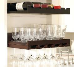 wine glass rack pottery barn. Delighful Pottery Pottery Barn Wine Shelf Rack From The And You Could Keep  Some Whiskey   In Wine Glass Rack Pottery Barn E