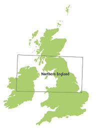 Northern England Northern Ireland Chart Ed42