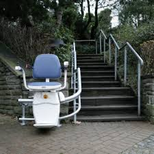Outdoor Stair Lift Chair Lifts for Any Staircase 101 Mobility