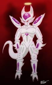4th form frieza frieza 4th form by dremclean on deviantart