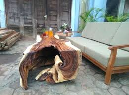 wood log coffee table live edge wood log coffee table with natural hole in the round wood log coffee table