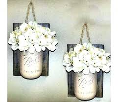 country decor wall sconces country decor wall sconces mason jar wall decor farmhouse decor vase best