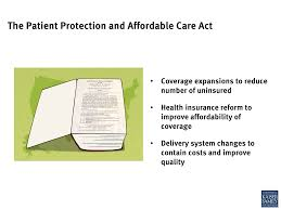 the patient protection and affordable care act the henry j image