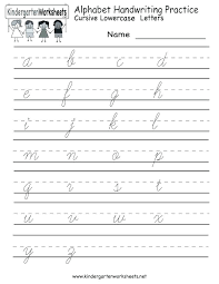 Printable Alphabet Writing Practice Sheets Alphabet Writing Practice Book Sheet Worksheets Homework
