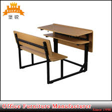 made in china metal and mdf material school furniture double children desk chair china student desk student desk chair