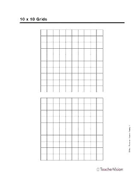 Graph Paper 10 By 10 10 X 10 To The Centimeter Graph Paper 5 Pack
