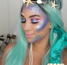 final look what s hot this mermaid makeup will turn you into an ocean