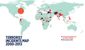 the geography of terrorism the atlantic institute for economics and peace