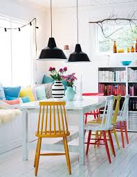 colored dining chairs perfect painted dining chairs with 25 best ideas about painted