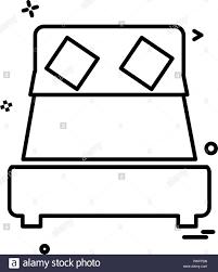 Icon Design Furniture Furniture Icon Design Vector Stock Vector Art Illustration