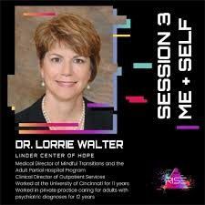"Muñoz Foundation on Twitter: ""Session 3's second speaker is Dr. Lorrie  Walter from @LindnerCtrHope! It's important to Dr. Lorrie Walter that young  leaders normalize discussions about mental health because rising above 2020"
