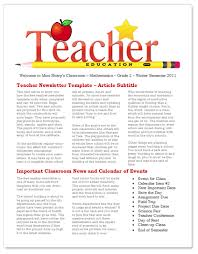 Teachers Newsletter Templates Worddraw Com Free Teacher Newsletter Templates