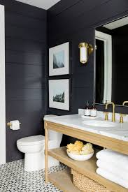 Best 25+ Black bathrooms ideas on Pinterest | Black powder room ...