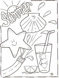 Small Picture Coloring Pages Free In Summer Coloring Page For Kids Seasons Pages