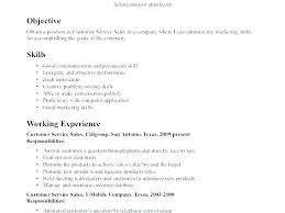 Good Resume Example Beauteous Objective Line For Resume Sample Best Professional Good Resume