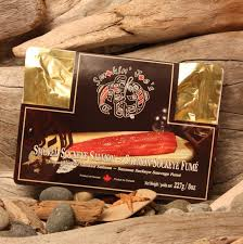 smoked salmon gift sleeves