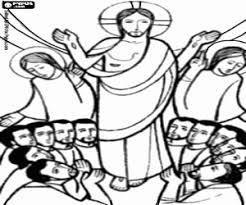 Jezus Vertelt 1 Bijbel Kleurplaten Nieuwe Testament