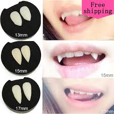 2pcs 1 3cm 1 5cm 1 7cm cosplay dentures zombie vampire how to sharpen your