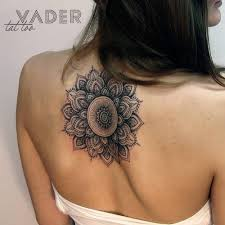 Mandala Tattoo On The Upper Back Ivca Mandala Tattoo Mandala