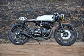 honda cb750 caf racer by seaweed gravel king of fuel