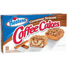 It doesn't have so much of a cake texture, more of a cross between a very tender scone and a cake, but the flavor is close to the little debbie's cakes. Hostess Cinnamon Streusel Coffee Cakes Shop Snack Cakes At H E B