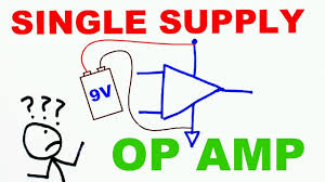Single Supply Op Amp Design How To Use Op Amps With A Single Rail Power Supply