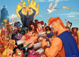 hercules movie disney characters. Contemporary Hercules Autographs With Hercules Movie Disney Characters