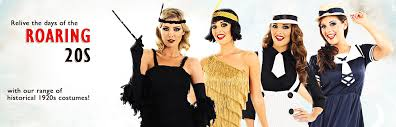 20s and gangster costumes