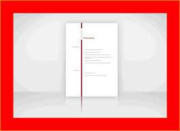 5 Layout Lebenslauf Resignation Format