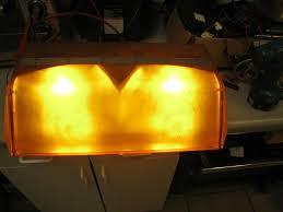 Force 4 Xl Light Bar Code 3 Force 4xl Amber Rotating Halogen Beacon Lightbar Towing Warning Lights