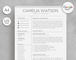 Google Docs Templates Resume Simonvillani Com