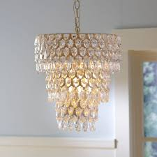 teardrop chandelier pbteen intended for girls room idea 15