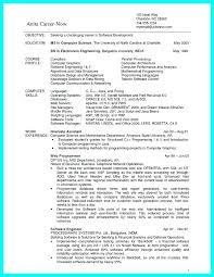 Computer Science Resume Computer Science Resume Templates New