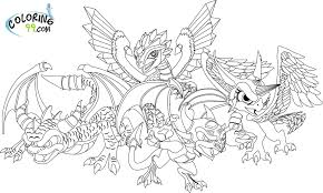 Skylanders Dragons Coloring Pages Minister Coloring Coloriage De Lego ElveslL