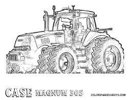 Tracteurs Coloriages Des Transports