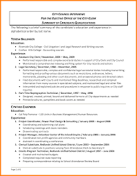 12 Qualifications On A Resume Letter Of Apeal