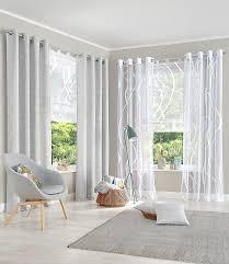 Dekorationen Wunderschöne Gardinen Ideen Für Große Fenster Inside