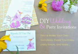 Print Your Own Invites Printable Invitation Templates Birthday Baby Shower