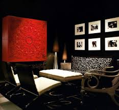 exquisite design black white red. Sparkling Black And White Interior With Red Accent Images - A Great Idea For Your Exquisite Decoration Design I