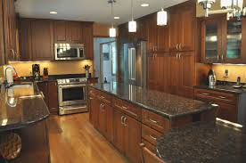Cherry Wood Kitchen Pantry Cabinet Elegant Cherry Oak Wood With