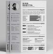Best Resume Templates 2017 Unique Best Free Resume Templates In PSD And AI In 60 Colorlib