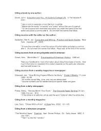 Template Bibliography Research Paper Example July 2019