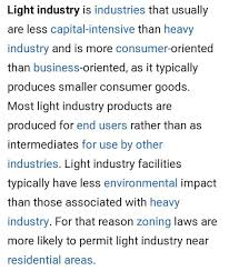 Difference Between Heavy Industry And Light Industry Difference Between Heavy Industries And Medium Industries