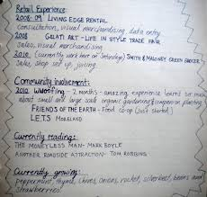 the hand written resume kasia tons an afternoon of careful writing i think it was worth it and if i don t get the job i ll just ask for my resume back and i ll re use it