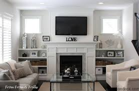 Living Room Fireplace Living Room Engaging Decorating Ideas With Tv And Small Fireplace