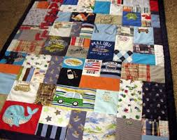 baby clothes memory quilt i have been