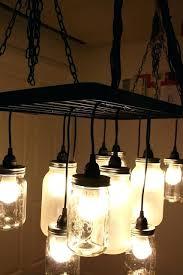 southern charm mason jar chandelier shades