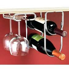 under cabinet wine glass rack wine rack wine rack shelf 3 throughout wine rack ikea