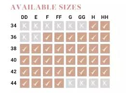 Elomi Bra Size Chart I Have A Large Cup Size Can I Wear A Strapless Bra Quora