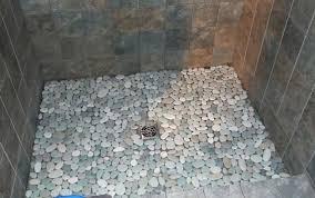 pebble tile shower floor wonderful pebble tile shower floor best home large version pebble tile shower pebble tile shower floor